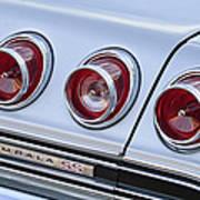 Chevrolet Impala Ss Taillight Art Print