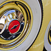 Chevrolet Tires Art Print