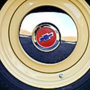 Chevrolet Wheel Emblem Art Print