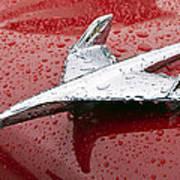 Chevy Bel Air Nomad Hood Ornament Art Print