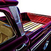 Chevy Custom Truckbed Art Print