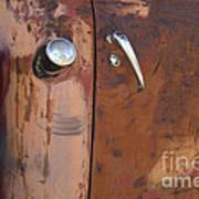 Chevy Truck Door Handle Detail Art Print