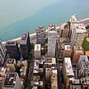 Chicago From Above 2 Art Print