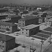 Chicagos Ida B. Wells Housing Project Art Print by Everett