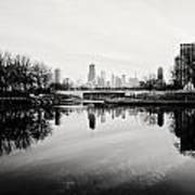 Chicago's North Pond Art Print