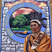Chief Logan Art Print