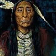 Chief Niwot Art Print