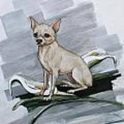 Chihuahua I Thought You'd Never Come Home Art Print