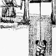 Child Labor, 1842 Art Print