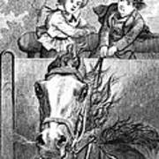 Children, 19th Century Art Print