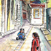 Children In Nicosia Art Print
