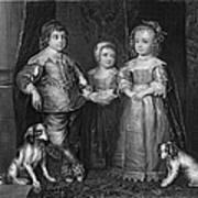 Children Of Charles I Art Print