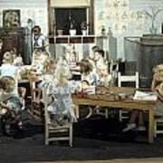 Children Play In A Day Nursery Art Print