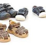 Childs Shoes Art Print