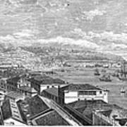 Chile: Valparaiso, 1865 Art Print