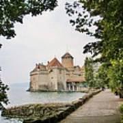 Chillon Castle Art Print