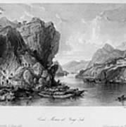 China: Coal Mining, 1843 Art Print