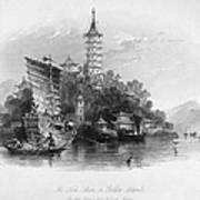 China: Golden Island, 1843 Art Print