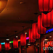 Chinatown - Colorful Shopping Mall Art Print