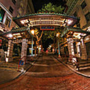 Chinatown Entrance Art Print