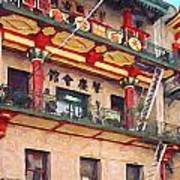 Chinatown Art Print by Wingsdomain Art and Photography