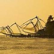 Chinese Fishing Nets Art Print