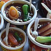 Chinese Food Miniatures 1 Art Print