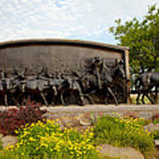Chisholm Trail Monument Art Print
