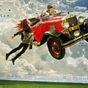 Chitty Chitty Oh No Art Print