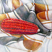 Choclo Solitario Art Print