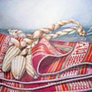 Choclos Envueltos En Aguayo Art Print