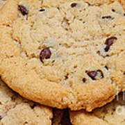 Chocolate Chip Cookies Pano Art Print