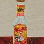 Cholula Art Print