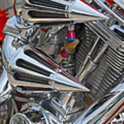 Chopper Engine-2 Art Print