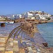 Chora Naxos Art Print