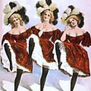 Chorus Girls Emerged As An Important Art Print