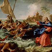 Christ At The Sea Of Galilee Art Print