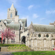 Christ Church Cathedral In Dublin Art Print