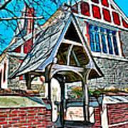 Christ Church Of St Michaels Art Print