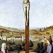 Christ Crucified Art Print