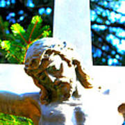 Christ In Spring Art Print