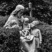 Christ With Children Art Print