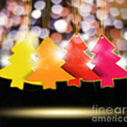 Christmas And New Year 2013 Art Print
