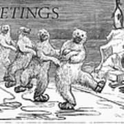 Christmas: Polar Bears Art Print by Granger