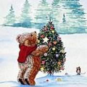 Christmas Star Print by Gordon Lavender