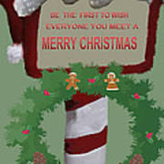 Christmas Traditions Cards 1 Art Print