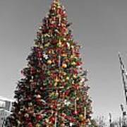 Christmas Tree At Pier 39 Art Print