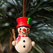 Christmas Tree Decoration Art Print