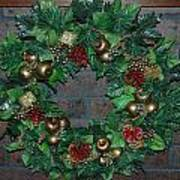 Christmas Wreath Art Print