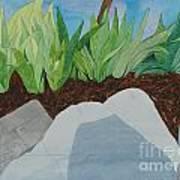 Chromitic Iris Art Print